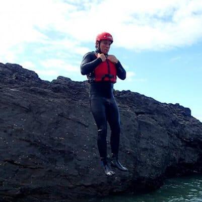 cliff jumping devon