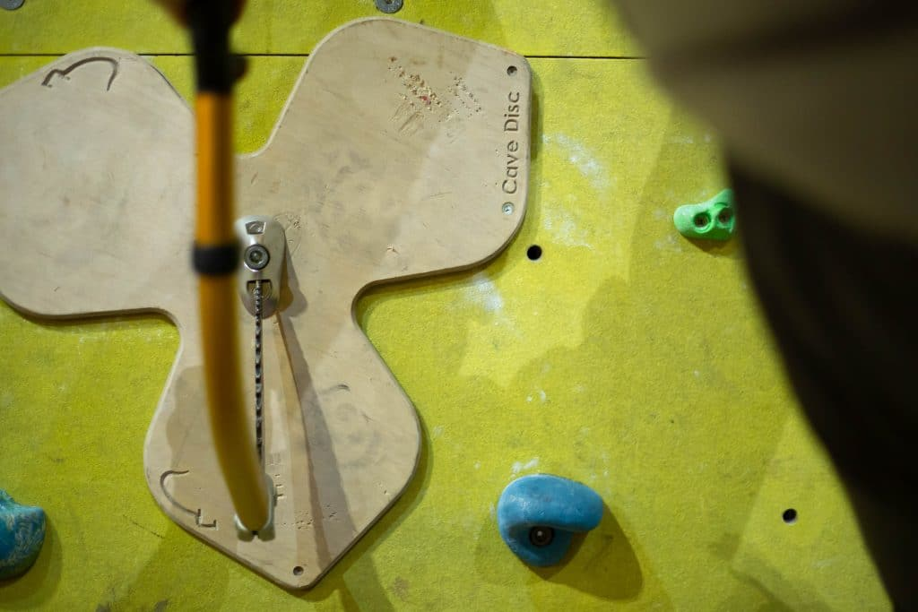 Undercling - dry tooling Devon