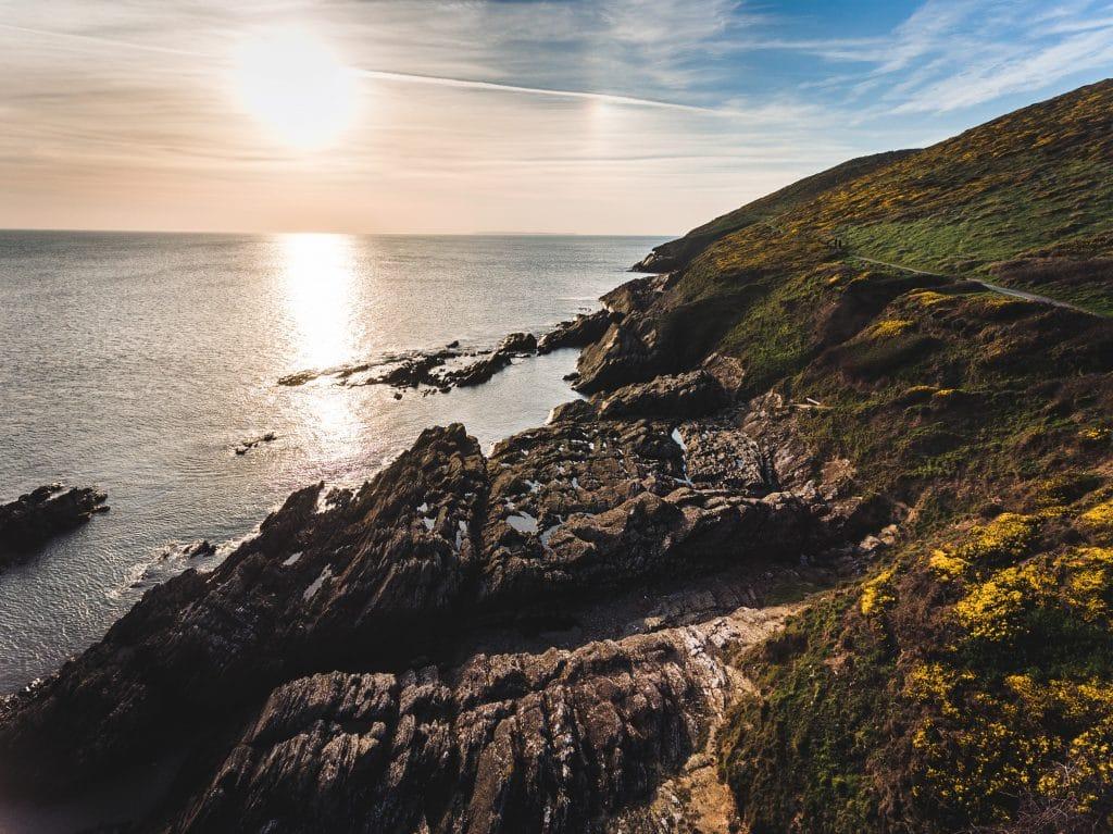 Baggy Point coasteering in North Devon